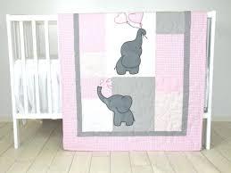 safari nursery bedding best baby girl quilt elephant blanket pink gray crib bedding safari elephant baby