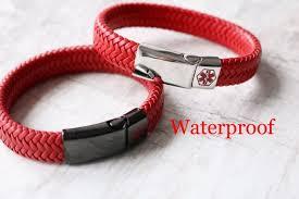 Medical Bracelet Kids Etsy Alert Id