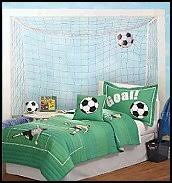 Sports Bedrooms  Sports Bedding  Boys All Sports Bedroom Soccer Bedroom Decor