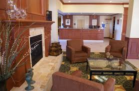 the lobby or reception area at hilton garden inn colorado springs airport
