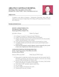Cover Letter Job Application Resume Format Job Application Resume