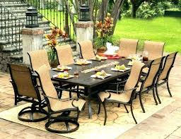 8 person outdoor dining table round outdoor dining table for 8 8 person patio table creative