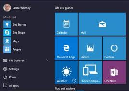 How to switch between the Start menu and Start screen in Windows 10 ...