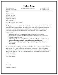 Medical Cover Letter Sample Cover Letter Example 5 Medical