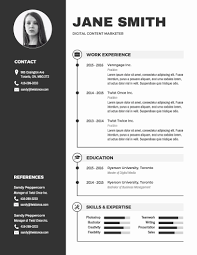 Resume Template Word Free Lovely Infographic Resume Template