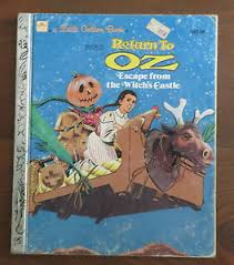 image is loading little golden book return to oz escape from