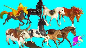 Super Haul - Complete <b>Set</b> of <b>All 8</b> Traditional Breyerfest Horses ...