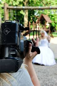 Wedding Recording With The Camera Stock Photo Picture And Royalty