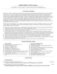 Insurance Resume Sample Musiccityspiritsandcocktail Com