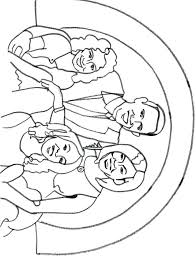 Barack Obama Coloring Pages Heavenly Family Coloring Pages Preschool