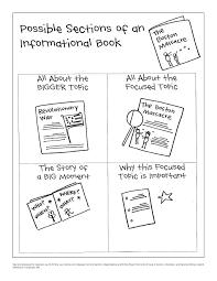 Calkins Information Writing Anchor Charts 4th Grade Ela Links
