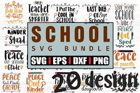 Svg cut files are a graphic type that can be scaled to use with the silhouette cameo or cricut. 20 School Quotes Svg Bundle Graphic By Svg In Design Creative Fabrica