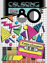 bendon 16929 the 80 s advanced coloring book