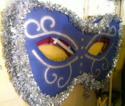Giant Masquerade Mask Decoration Secondhand Prop Shop Costume and Fancy Dress Giant LED 36