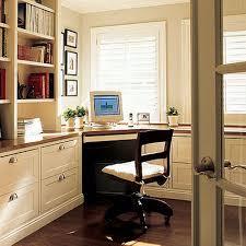 office in kitchen. corner desk in kitchen office