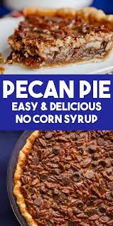 chocolate pecan pie without corn syrup.  Corn Pecan Pie Without Corn Syrup Intended Chocolate E