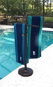 outdoor pool towel rack australia