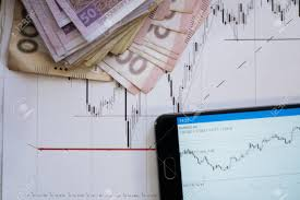 Professional Stock Chart Stock Market Chart On Forex Charts And Money Live Online Screen