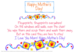 Small Picture 30 Touching Mothers Day Poems From Kids