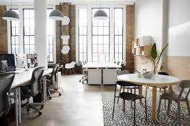 blue white office space. Dots Office That Combines American With Scandinavian Home Blue White Space I