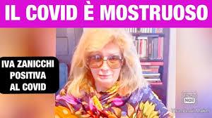 """IVA ZANICCHI PIANGE: """"SONO POSITIVA, IL COVID È MOSTRUOSO"""" - YouTube"""