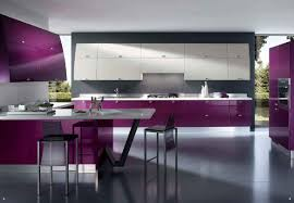Purple Kitchen Purple Kitchens Inmyinterior