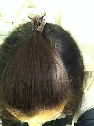 女性の薄毛を隠す髪型ヘアアレンジ