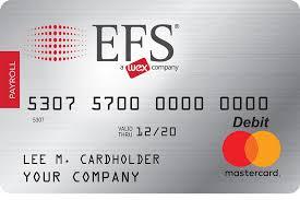 mastercard payroll card