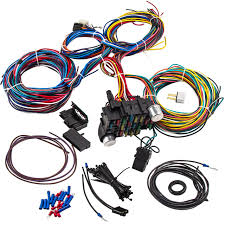 21 circuit wiring harness for chevy mopar ford hotrod universal universal wiring harness hot rod 21 circuit wiring harness for chevy mopar ford hotrod universal extra long wires for ford performance