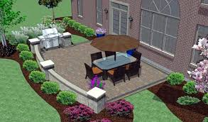 simple patio designs with pavers. Simple Patio Design Hardscape Brick Pavers Marvins Madison Designs With R