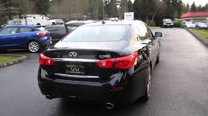infiniti 2015 q50 black. 2014 infiniti q50 black obsidian stock 14685 walk around youtube 2015