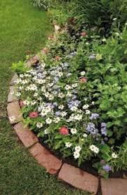 brick garden edging. how to install brick edging in your garden