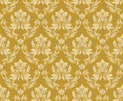 Gold Pattern Gorgeous Damask Seamless Gold Pattern Vector Image Vector Artwork Of