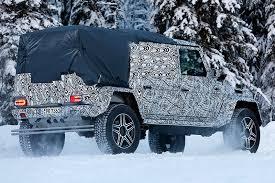 mercedes g wagon truck 2017. mercedes- benz pickup truck variant g class squared-back mercedes wagon 2017