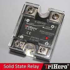 China <b>SSR 100A SSR</b> 100dd <b>100A Solid State Relay</b>, <b>Single Phase</b> ...
