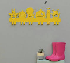 Kids Wall Coat Rack A Super Cool Wall Hooks For Your Kids Room You Can Hang Everything 80