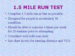 1 5 Mile Run Test