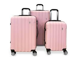 Light Luggage Sets Details About Todo Ultra Light Luggage Set 3pcs Hard Shell Combination Locks Pink