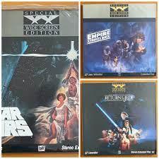 แผ่นหนังเลเซอร์ดิสก์ Laser Disc (มือ 2) : Star Wars ไตรภาค