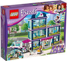 Đồ chơi lắp ráp LEGO Friends 41318 - Bệnh Viện Heartlake (LEGO Friends  Heartlake Hospital) giá rẻ