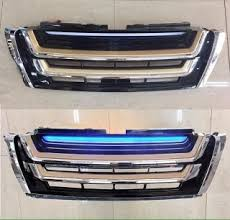 <b>Решетка радиатора led</b> Prado 150 2014