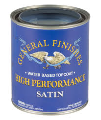 High Performance Polyurethane Water Based Topcoat General Finishes