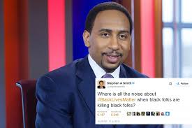 'black Trashed For Taking Twitter Smith A At Espn Shot 's Stephen On wBgyAFq