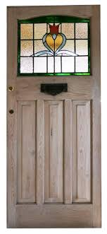 front door victorian delightful stained glass wood antique loads of character with locks