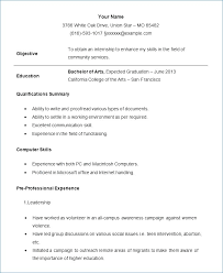 Freshman College Student Resume Fascinating Freshman College Student Resume Resumelayout
