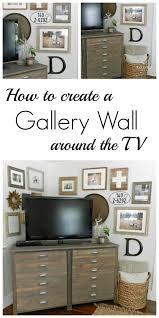 tv in corner of living room fresh 20 best gallery wall images