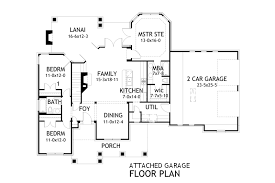 small house plans with garage. Contemporary Plans Attached Garage Plan For Small House Plans With