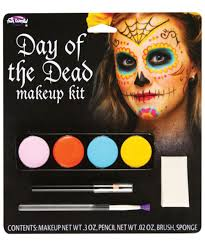 day of the dead bright makeup kit