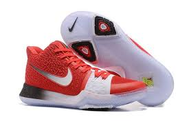 nike basketball shoes 2017 release. new release nike kyrie 3 pe red white silver basketball shoes 2017