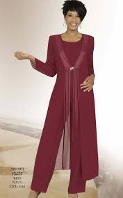 Misty Lane 13537 By Ben Marc Formal Pant Suit With Long
